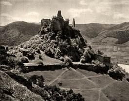 Ruine_Duernstein_historisch